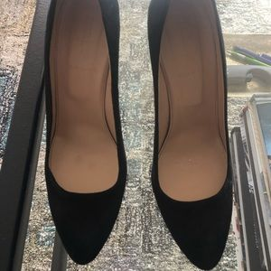 Jcrew black pumps